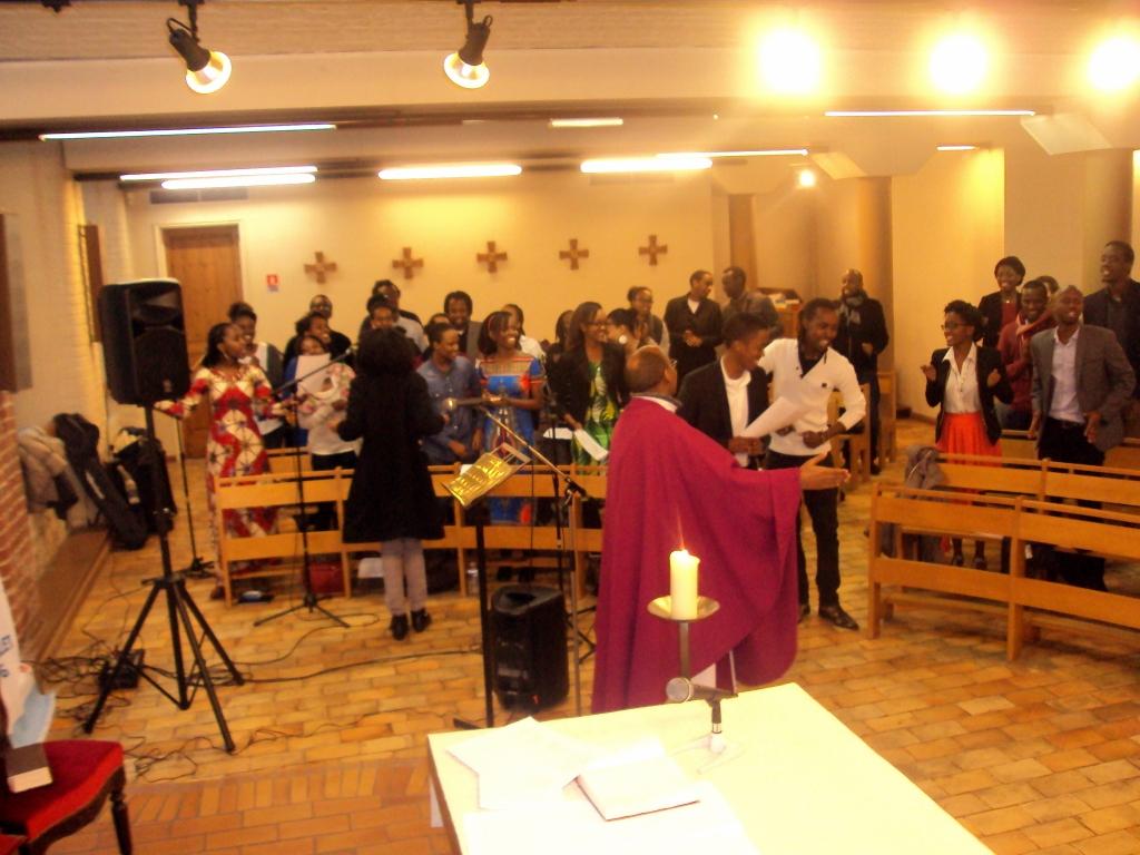 Messe pour le Burundi en l'église St Vincent de Paul  -  Lille le 20/2/2016