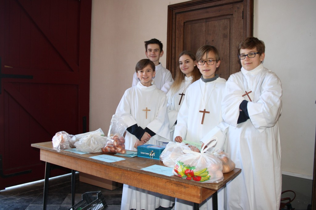 Messe des enfants à Zuytpeene