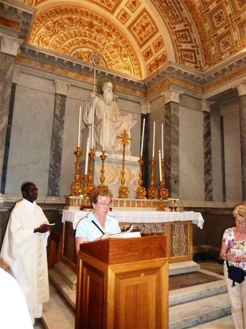 Chapelle St-Benoît à la basilique St-paul hors les murs