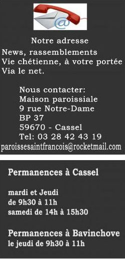 Adresse permanences