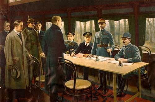 Armistice du 11 novembre 1918 a rethondes