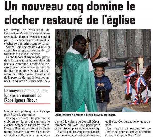 Benediction du coq d oxelaere