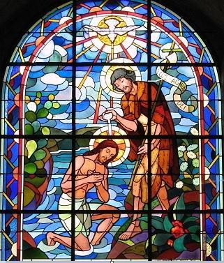 Le bapteme de jesus abbatiale de saint florent le vieil maine et loire 1
