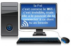 Ordinateur wifi foi