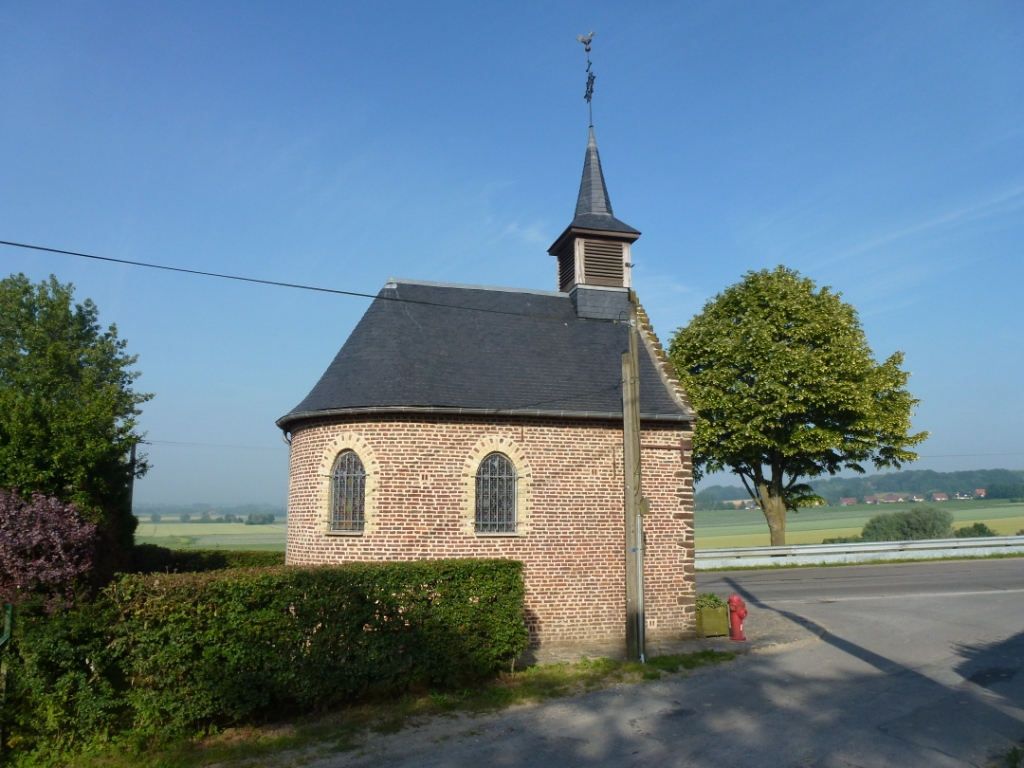Sainte marie cappel nord fr chapelle n d des champs facade est